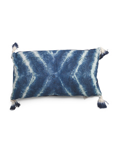 Made In India 14x28 Shibori Pattern Pillow