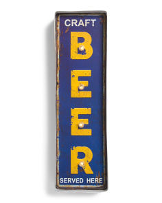Craft Beer Mountable LED Sign