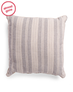 Made In India Linen Blend 24x24 Pillow