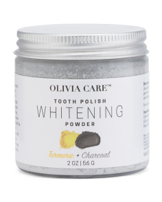 Charcoal Tooth Polish Tumeric