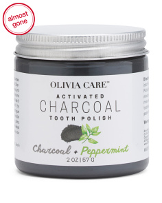 Charcoal Peppermint Tooth Polish