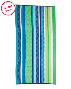 Lahaina Striped Beach Towel