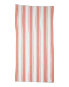 Reversible Stripe Beach Towel