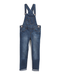 Big Girls Denim Overalls