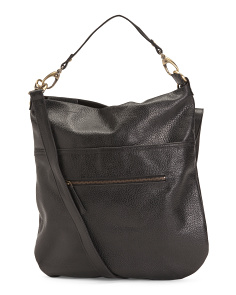 Leather Hobo Messenger
