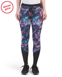 Palm Printed Leggings