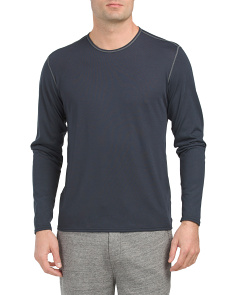 Relaxed Crew Neck Shirt