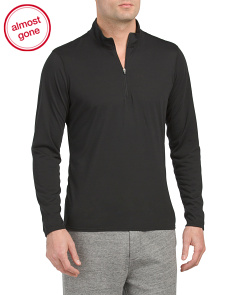 Skins Zip Baselayer Top