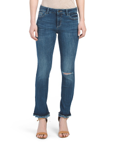 Instasculpt Straight Ankle Jeans