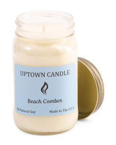 Made In USA 16oz Beach Comber Soy Candle