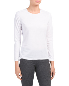Bi-ply Base Layer Crew Neck Top