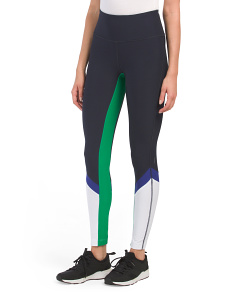 Color Block Ankle Leggings