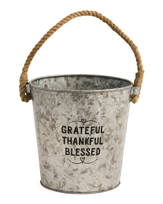 Made In India Grateful Pail