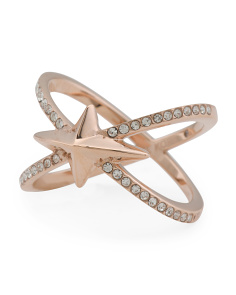 Starburst Criss Cross Ring
