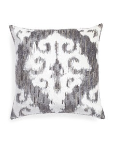Made In India 22x22 Oversized Beaded Pillow