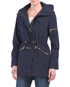 Hooded Outerwear Coat