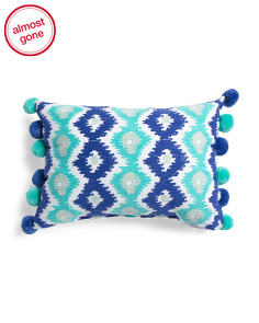 14x20 Indoor Outdoor Embroidered Pillow