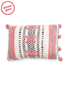 Made In India 14x20 Textured Pillow