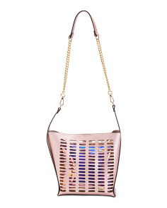 Cut Out Design Shoulder Bag