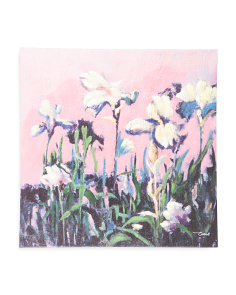 30x30 Spring Florals Canvas Wall Art