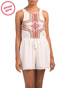 Racquel Cover-up Romper