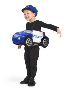 Kids Step In Police Car Costume