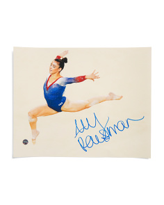 Aly Raisman Signed In Air Photo