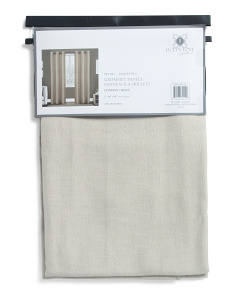 38x96 Set Of 2 Textured Curtains