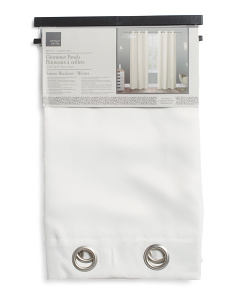 38x84 Set Of 2 Sateen Blackout Curtains