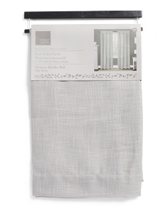 38x84 Set Of 2 Shimmer Curtains