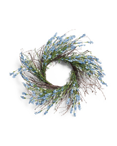 28in Veronica Bud Wreath
