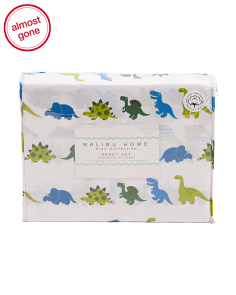 Marching Dinos Sheet Set