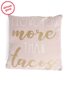 20x20 Tatiana Taco Pillow