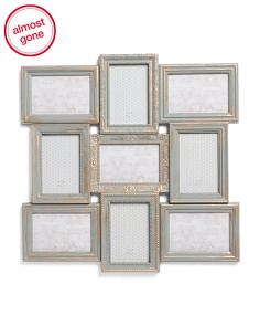 9 Opening Collage Wall Photo Frame
