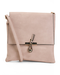 Novelty Closure Crossbody