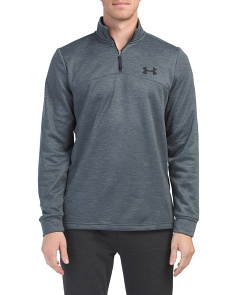 Quarter Zip Slub Top