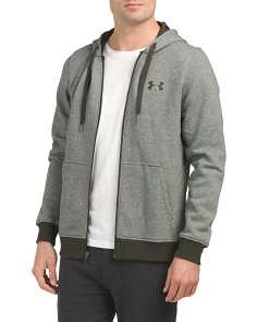 Rival Fitted Full Zip Hoodie