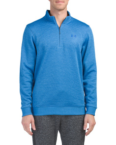 Storm Stripe Quarter Zip Top