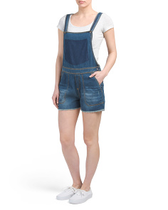 Distressed Cutoff Shortalls