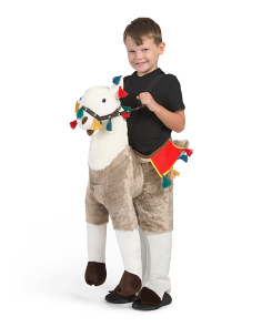 Kids Step-in Llama Costume