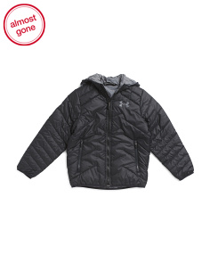 Boys Coldgear Hooded Jacket
