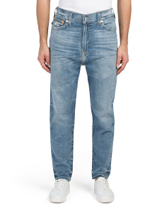 Slim Fit Flap Pocket Jeans