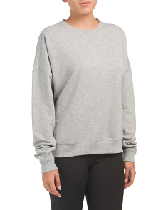 Modern Terry Crew Neck Sweatshirt