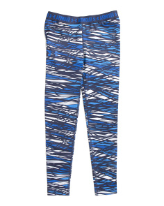 Girls Printed Active Leggings