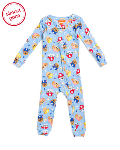 Infant Boys Paw Patrol Footless Sleep N Play