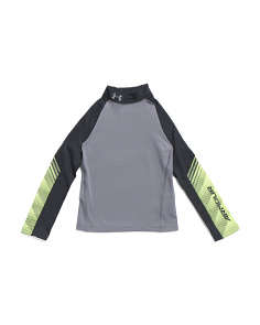 Boys Coldgear Mock Neck Top