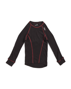 Boys Double Layer Thermal Base Layer Top