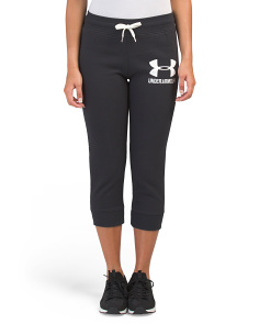 Favorite Fleece Graphic Capris