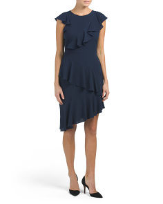 Asymmetric Sheath Dress