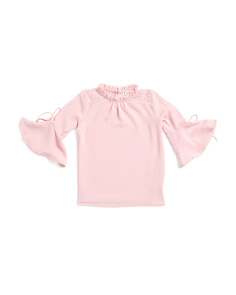Little Girls Bell Sleeve Top